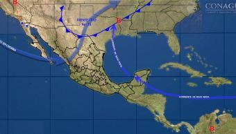 Frente frío 31 provocará tormentas y torbellinos