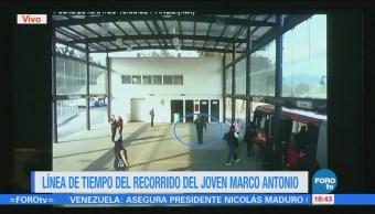 Marco Antonio fue observado en Tlalnepantla sin lesiones: PGJ-CDMX