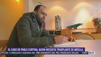 El caso de Pablo Cortina y su trasplante de médula