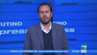 Matutino Express del 2 de febrero con Esteban Arce