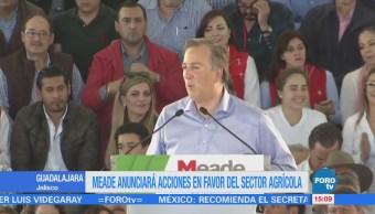 El precandidato de la coalición 'Todos por México', José Antonio Meade, visitó ayer Culiacán, Sinaloa, en el Aeropuerto dijo estar emocionado de reencontrarse con sus amistades en el estado