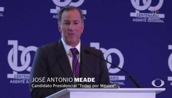 Meade critica propuesta de AMLO sobre 'Constitución moral'