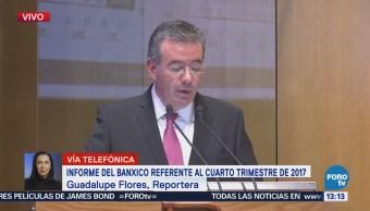 México crecerá hasta 3.2% en 2019, señala Banxico
