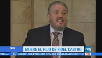 Muere el hijo mayor de Fidel Castro