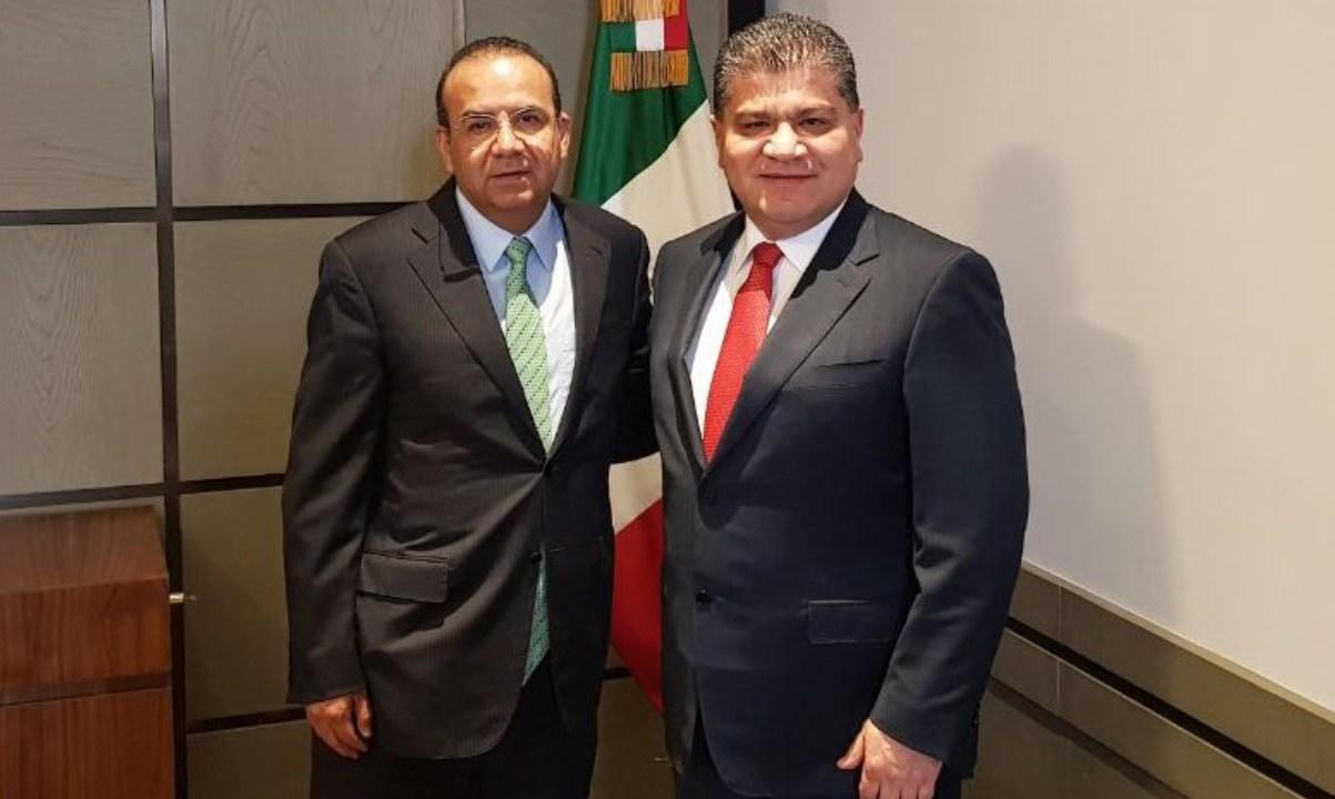 alfonso navarrete y gobernador coahuila analizan trabajo favor ciudadanos