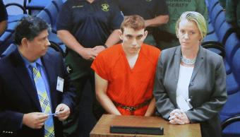 Nikolas Cruz durante su comparecencia en Florida. (EFE)