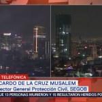 No hay daños tras sismo en la CDMX: Segob