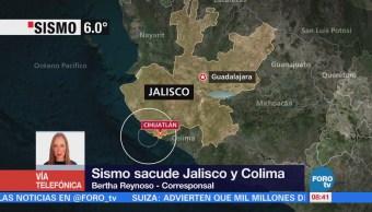 Reportan Daños Sismo Jalisco