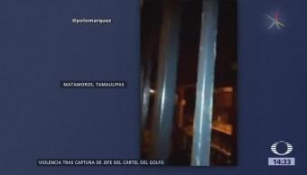 Noche Balaceras Matamoros, Tamaulipas