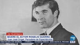 Rogelio Guerra, un buen amigo: Juan José Origel