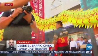 Festejan Año Nuevo Barrio Chino Cdmx