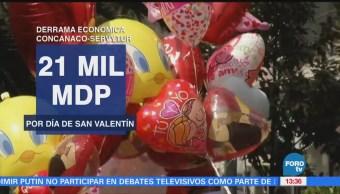Estiman Derrama Económica 21,000 Mdp Día San Valentín
