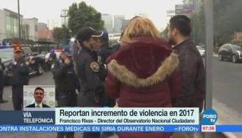 Observatorio Nacional Ciudadano 2017, Año Mayor Tasa Homicidio Doloso