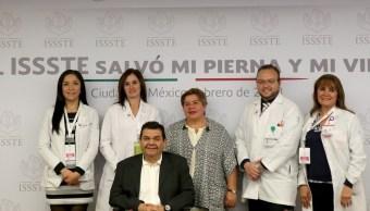 medicos issste salvan paciente diabetico amputacion pierna