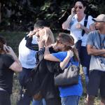 Padres de familia tras tiroteo en Florida, EU