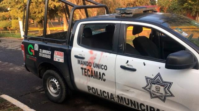 Balacera y persecución en Tecámac termina con un muerto