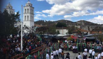 Pelea de Xochimilcas, tradición ancestral en Zitlala, Guerrero