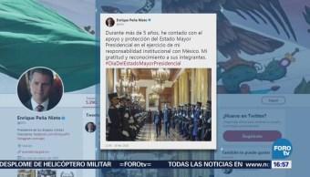 Peña Nieto Reconoce Estado Mayor Presidencial