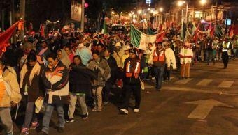 Peregrinos de la Diócesis de Toluca llegan a la Basílica de Guadalupe