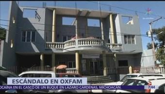 Personal Oxfam Tuvo Encuentros Prostitutas Cuando Ofrecían Ayuda Haití