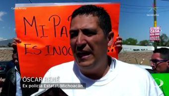 Liberan a policía acusado de participar en ejecución extrajudicial en Morelia, Michoacán