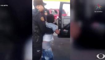 Policías detienen a niño de 10 años por robo en Nuevo Léon
