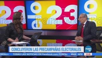 Proceso electoral en México entra en periodo de intercampaña