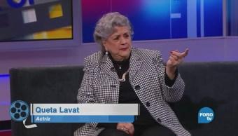 Queta Lavat platica de: 'Lo Que el Viento se Llevó'