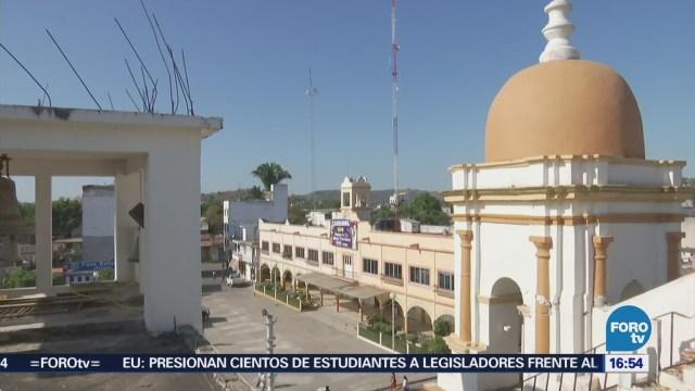 INAH reporta daños en templos históricos por sismo en Oaxaca