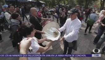 Realizan procesión en CDMX para exigir protección hacia la vaquita marina