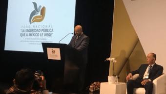 Renato Sales pide dignificar a la Policía para combatir violencia de raíz