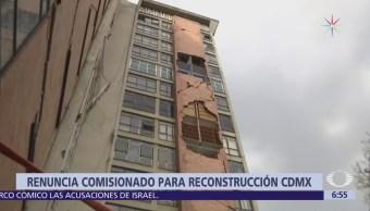 Renuncian miembros de Comisión para la Reconstrucción en protesta por distribución de recursos
