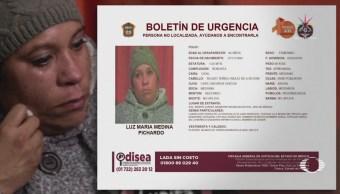 Reportan desaparición de la tía de 'Calcetitas Rojas'