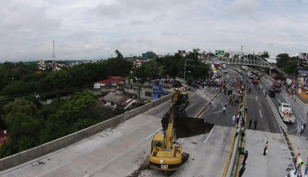 Sin sanción a funcionarios por socavón de Paso Exprés