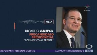Ricardo Anaya niega que fuera informado del seguimiento del Cisen