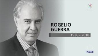 Rogelio guerra, actor de televisión, cine y teatro