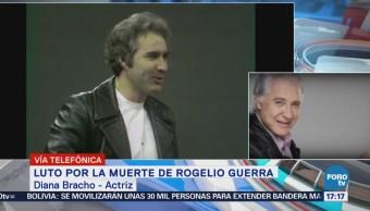 Rogelio Guerra fue un hombre entregado a su trabajo: Diana Bracho