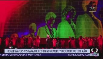 Roger Waters ofrecerá tres conciertos en México