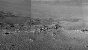 Rover Opportunity encuentra misteriosas franjas Marte