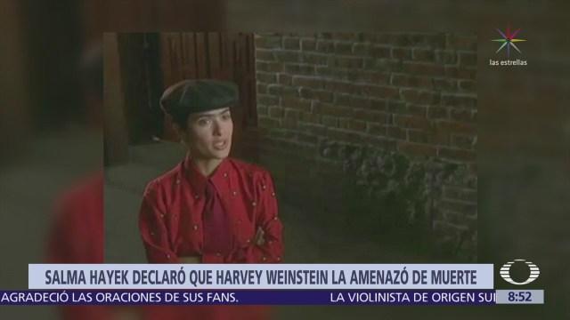 Salma Hayek Revela Detalles Amenazas Harvey Weinstein