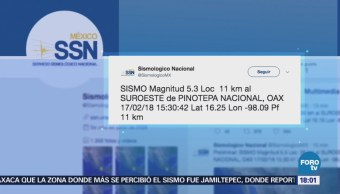 Se registra nueva réplica del sismo del viernes