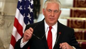 Tillerson a Corea del Norte que decida cuándo está listo para conversar