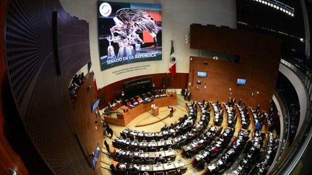 Sesión del Senado de la República
