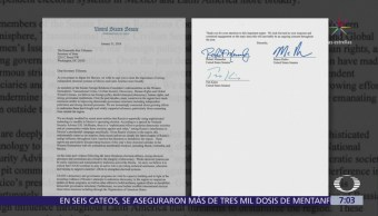 Senadores de EU piden a Tillerson proteger las elecciones mexicana de la injerencia rusa