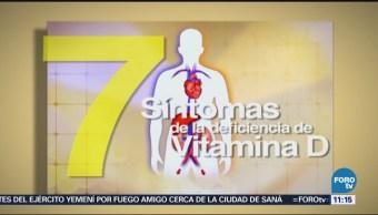 Siete síntomas por deficiencia de Vitamina D