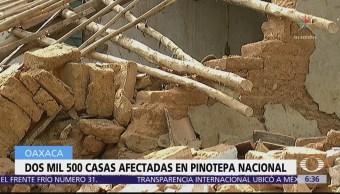 Sigue Recuento Daños Oaxaca Tras Sismo 16 De Febrero
