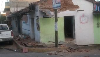 miles de viviendas en pinotepa nacional son dañadas por sismo
