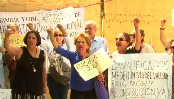 damnificados sismo juarez dictamenes delegacion inmuebles