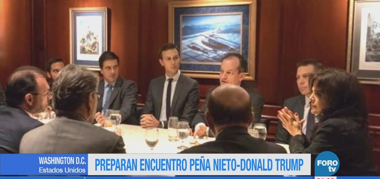 SRE busca encuentro entre Peña Nieto y Trump