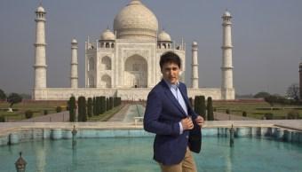 Trudeau visita Taj Mahal durante gira de una semana en India